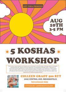 5 Kosha Workshop