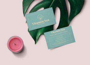 Vitamin Sea Biz Card Mock Up